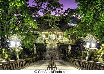 Narita Shrine in Narita, Japan founded in 940 A.D.