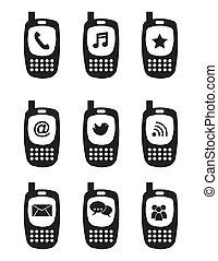 phones icons