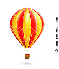 Air balloon, vector