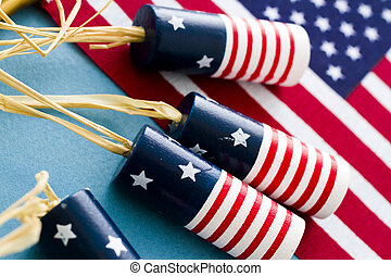 Fourth of July - Patriotic items to celebrate July 4th.
