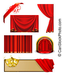 Theater, vector set
