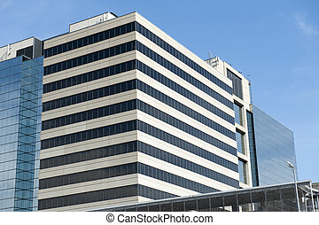 Generic Office building - Generic looking office building on...