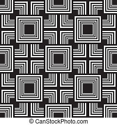 Corners and squares game abstract seamless background