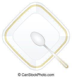 spoon and plate 2