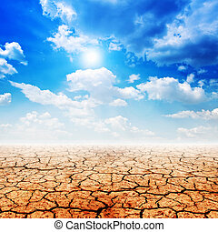 Desert land