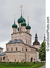Rostov Kremlin - barbican churches of St. John the Apostle...