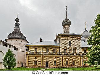 Rostov Kremlin - Church of Virgin the Hodegetria in Rostov...