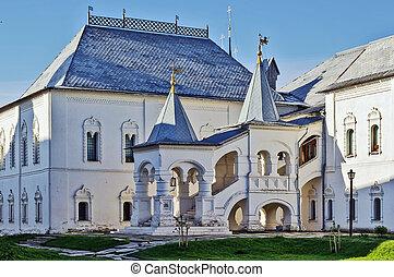 Rostov Kremlin - Red chamber in Rostov Kremlin, Russia