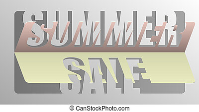 Summer Sale - Information Message