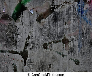 Abstract Painted Wall Background - Stock Photo - Designed...
