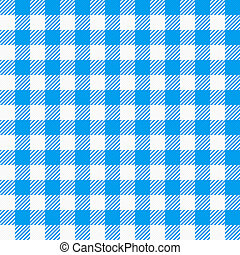 red white plaid tablecloth