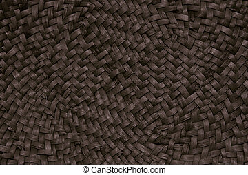 Wicker texture of natural materials