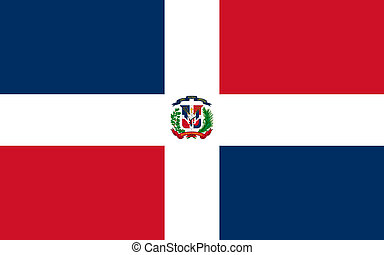 Dominican - The Standard flag Dominican Republic