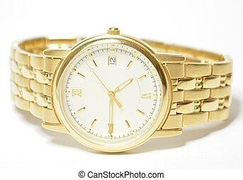 wrist watch - a close up of a wrist watch