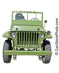 US army jeep -  world war 2 era US army jeep