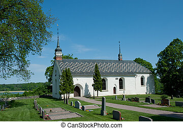 The church in Dalby, Uppland, Sweden - The church in Dalby...