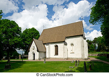 The church in Vasteraker, Uppland, Sweden - The Church in...