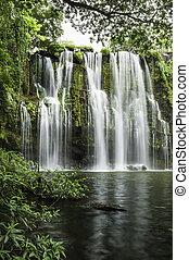 Llanos de Cortez Waterfall - Llanod de Cortez Waterfall...