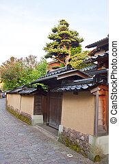 Nagamachi district in Kanazawa, Japan - The Nagamachi...