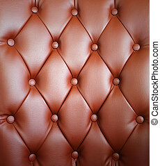 brown upholstery leather pattern background