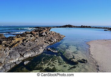 Tidal pool - Landscape with tidal pool in Silverstroom...
