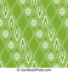 Seamless floral pattern in japanese style - Abstract floral...