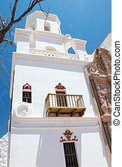 The Bell Tower at Mission San Xavier