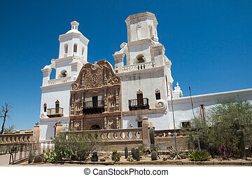 Spanish Colonial Mission in Arizona - The Spanish colonial...