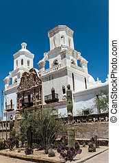 Mission San Xavier del Bac - The Spanish colonial Mission...