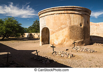 The Spanish Mission at Tumacacori - Mission Tumacácori,...