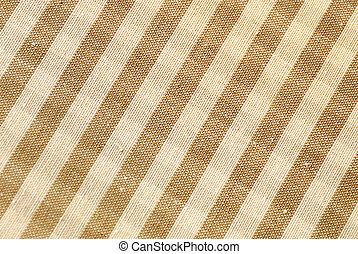 Gingham - Macro brown and beige gingham pattern