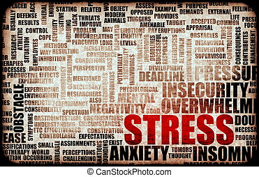 Stress Management and Being Over Stressed as Art