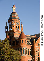 Old Red Museum former courthouse in Dallas, TX