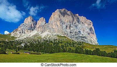 Dolomites mountain - High mountain in Dolomites Italy.