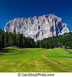 Dolomites mountain - High mountain in Dolomites Italy