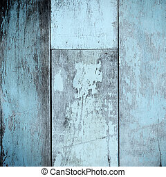 azul, vindima, parede, fundo