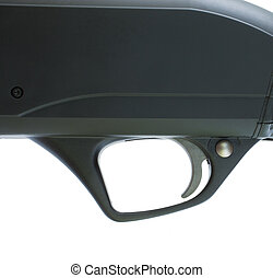 Black shotgun trigger