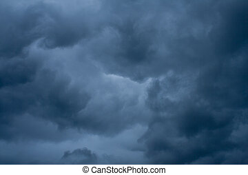 Cloud Strom background