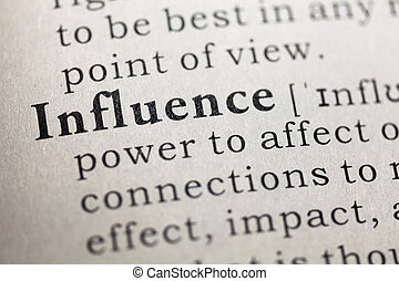influence - Fake Dictionary, Dictionary definition of the...