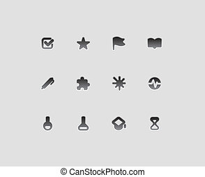 Icons for education and science - Icons for education,...