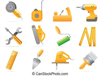 Icons for tools