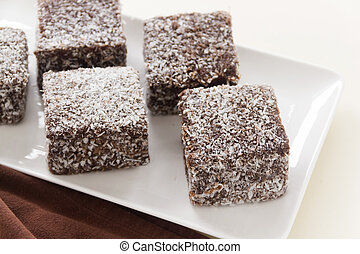 Aussie Lamingtons - The iconic Australian cake the lamington...