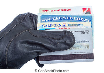 Identity theft. - Identification documents (social security,...