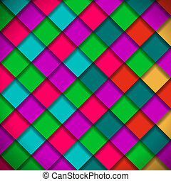 Bright colors mosaic pattern, vector Eps10 illustration