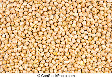 Background with chickpeas