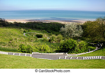 Omaha Beach - Omaha beach, Normandy, France