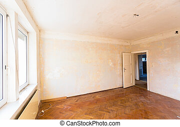 apartment to be renovated - old apartment, apartment...