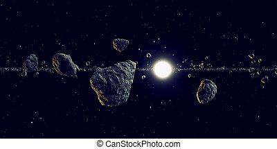 meteoros, sol