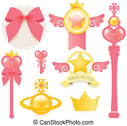 Princess Collection - Vector FIle EPS10