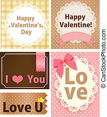 Valentine Card - Vector File EPS10